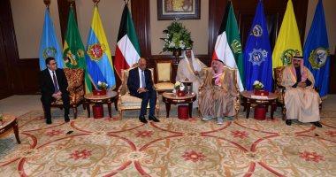 على عبد العال يدعو أمير الكويت لزيارة مصر وإلقاء كلمة للشعب من البرلمان