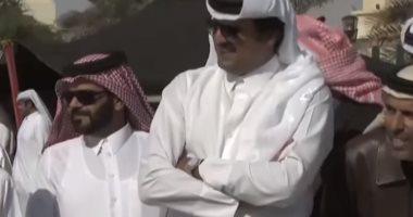 """شاهد.. """"مباشر قطر"""" تفضح الخلاف بين زوجات تميم بن حمد داخل قصر الحكم"""