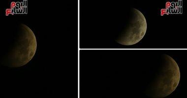 صور.. القمر يتوارى عن العالم لمدة 63 دقيقة فى أول خسوف كلى بـ2019.. رئيس معهد البحوث الفلكية: لا خطورة على العين بالنظر إلى الظاهرة.. جاد القاضى: استعدينا بأجهزة حديثة وكاميرات وتليسكوبات دقيقة للحدث الفريد