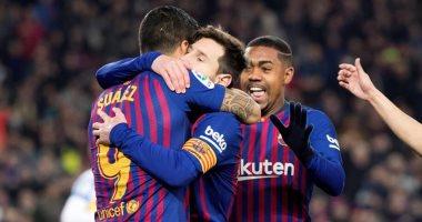 ملخص وأهداف مباراة برشلونة ضد ليجانيس فى الدورى الإسبانى