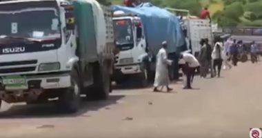 """شاهد..مباشر قطر: المهاجرون الأفارقة خدعة""""الحمدين"""" لاختراق الأراضى الليبية"""