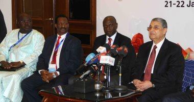 انطلاق الموتمر الصحفى لوزراء الطاقة الأفارقة