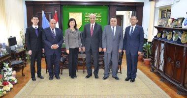 رئيس جامعة الإسكندرية يبحث إنشاء معهد كونفشيوس بالتعاون مع جامعة شنغهاي بالصين