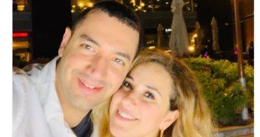 شاهد.. أحدث ظهور للفنانة شيرى عادل مع زوجها الداعية معز مسعود