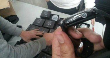 إحباط تهريب 71 ساعة مزودة بكاميرا للتنصت عبر مطار القاهرة