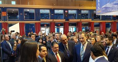 رئيس هيئة تنشيط السياحة يفتتح الجناح المصرى بمعرض FITURE الدولى بإسبانيا