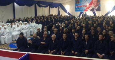 صور.. شاهد فرحة الغارمين السجناء المفرج عنهم بمناسبة عيد الشرطة