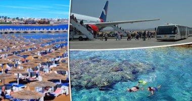 """مجلة إيطالية تصف الغردقة بـ""""اللؤلؤة"""" ودليل سفر للسائحين لاكتشاف البحر الأحمر"""