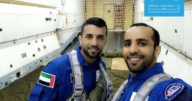 """رائدا الفضاء الإماراتيان يتدربان فى مركز تابع لـ """"ناسا"""""""
