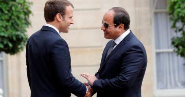 الرئاسة: السيسى وماكرون يشهدان التوقيع على عدة اتفاقيات اليوم