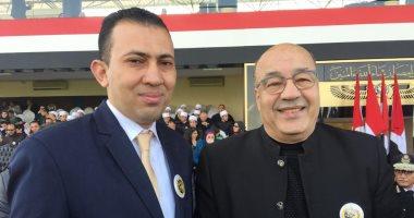 فيديو.. حجاج عبد العظيم لرجال الشرطة فى عيدهم: مطمئنين بوجودكم