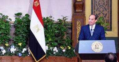 الرئيس السيسي: أقف هنا اليوم بإرادة مصرية وإذا غابت لن أستمر يوما