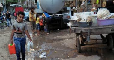 شكوى من قطع المياه عن شارع الامام الغزلى بإمبابة