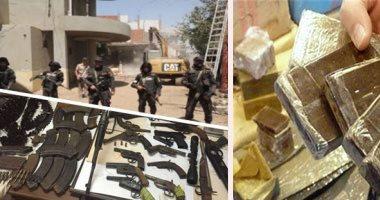 ضبط 4 أسلحة وتنفيذ 190 حكما قضائيا فى حملة أمنية بالعياط