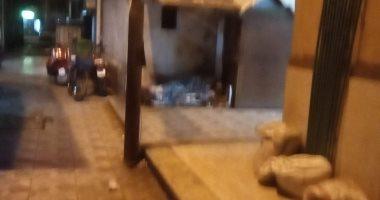 إحنا معاك.. قارئ يشارك اليوم السابع بصورة مشرد بحى الإفرنج فى بور سعيد