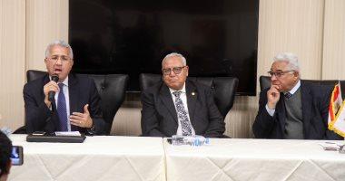صور.. مساعد وزير الخارجية الأسبق: السلم والأمن على رأس أجندة مصر فى أفريقيا