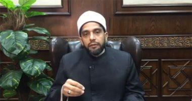 الدكتور أحمد وسام، مدير إدارة البوابة الإلكترونية، وأمين الفتوى بدار الافتاء