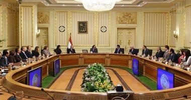 """الوزراء ينشر فيديو لقاء """"مدبولى"""" بوفد لجنة التبادل التعليمى بين مصر وأمريكا"""