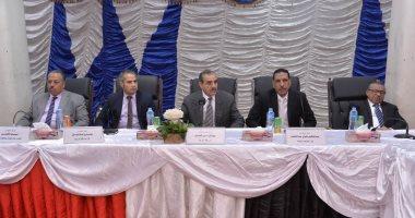 محافظ أسيوط يلتقى بأعضاء نقابة المهندسين الفرعية لبحث سبل التعاون المشترك