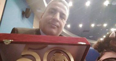 محمود عبده: فوزى بجائزة معرض الكتاب شهادة من نقاد كبار