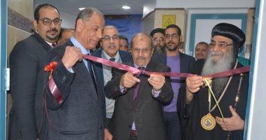 رئيس جامعة الفيوم يشهد يفتتح المستشفى التخصصى الجديد ووحدة الأشعة المقطعية
