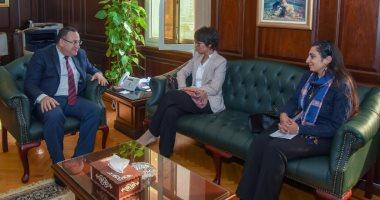 محافظ الإسكندرية يستقبل قنصل عام فرنسا لتوطيد العلاقات بين البلدين