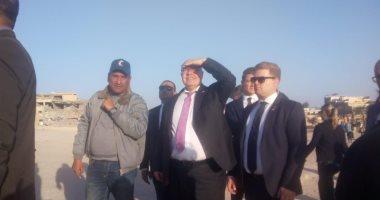 وزير الإقتصاد الألمانى يزور منطقة آثار أهرمات الجيزة.. صور