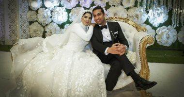 الزميل عرفة الضبع يحتفل بزفافه فى حضور كبار عائلات سوهاج