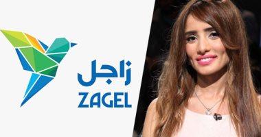 """الفنانة زينة عن تطبيق """"زاجل"""" الإخبارى: فكرة هايلة توفر الوقت والمجهود"""