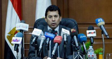 وزير الرياضة : مصر أصبحت محط نظر المؤسسات الرياضية في تنظيم الأحداث