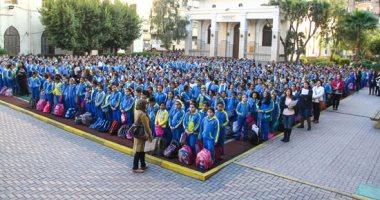 انطلاق أول أيام الدراسة بالتيرم الثانى وسط إقبال كبير من الطلاب