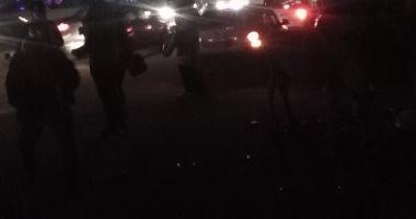 أهالى جسر السويس يطالبون بإضاءة الطريق أمام محطة برج العرب