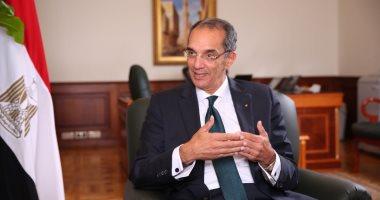 وزير الاتصالات يغادر القاهرة للمشاركة فى القمة العالمية للحكومات بدبى