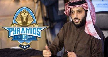 """فيديو.. تركى آل الشيخ يحتفل: """"قولوا للزمالك والأهلى وضبلى الملعب واندهلى"""""""