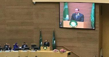 رئيس المفوضية الأفريقية: حريصون على التعاون الكامل مع الرئيس السيسى