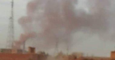 شكوى من تصاعد الأدخنة من مصنع أسمدة فى عرب أبو ساعد بالصف