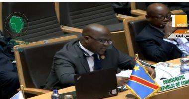 """رئيس الكونغو لـ""""السيسى"""": خصالكم كقائد سيمكنكم من قيادة الاتحاد الإفريقى"""