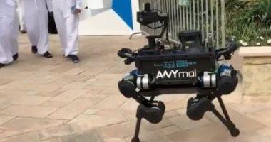 """فيديو.. """"الروبوت الحيوانى"""".. تعرف على الضيف الغريب فى القمة العالمية للحكومات"""