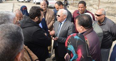 لجنة من مجلس الوزراء تتفقد محطة الصرف الصحى c9 ببورسعيد لإعادة تشغيلها