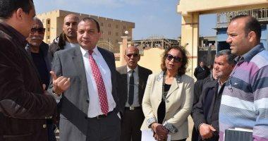 رئيس جامعة بنى سويف يوصى بتوفير سيارات إسعاف دائمة بمدن الطلاب