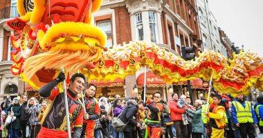 الأكبر خارج آسيا.. شاهد كرنفال السنة الصينية بقلب لندن × 20 صورة
