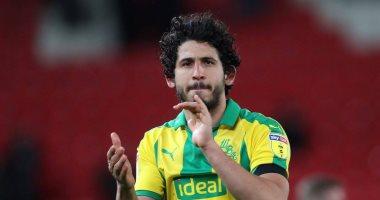 وست بروميتش ألبيون يدعم أحمد حجازي قبل مباراة مصر وغينيا