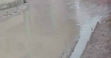 قارئ يشكو تراكم مياه الأمطار بقرية الربع مركز البرلس فى محافظة كفر الشيخ