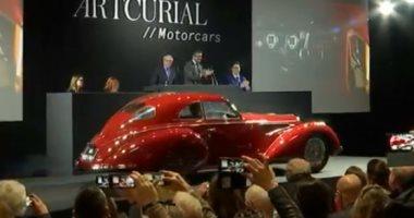 شاهد.. بيع سيارة موديل 1939 بـ19 مليون دولار