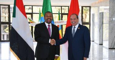 مصر والسودان وإثيوبيا يتفقون على عدم الإضرار بالمصالح المشتركة