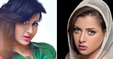 شيما ومنى فاروق يصلان محكمة مدينة نصر لنظر تجديد حبسهما.. ويخفيان وجهيهما