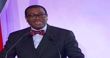 """رئيس البنك الأفريقى يتعهد بالتبرع بجائزة """"صنهالك"""" لمكافحة الجوع بالقارة"""