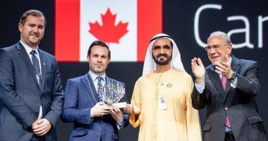 كندا تتسلم جائزة الحكومة الأكثر ابتكارا فى القمة العالمية للحكومات.. صور