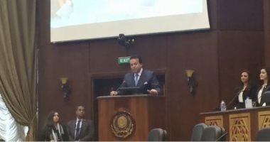 وزير التعليم العالى: الأكاديمية العربية للعلوم والتكنولوجيا صرح علمى