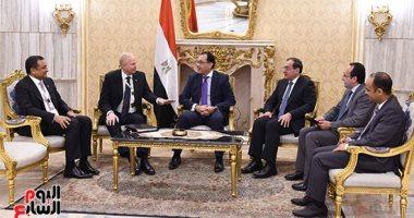 رئيس الوزراء يلتقى بوب دادلى رئيس مجلس إدارة شركة BP العالمية للبترول